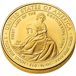 first spouse gold coin series